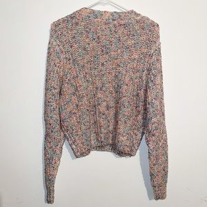 Forever21 Pink Multicolor Sweater